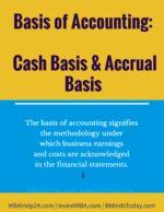 Basis of Accounting: Cash Basis & Accrual Basis Balanced Scorecard | Comprehensive Knowledge | Measures Balanced Scorecard | Comprehensive Knowledge | Measures Basis of Accounting Cash Basis and Accrual Basis 150x194
