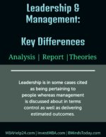 Leadership and Management | Key Differences leadership Leadership Leadership and Management Key Differences 150x194