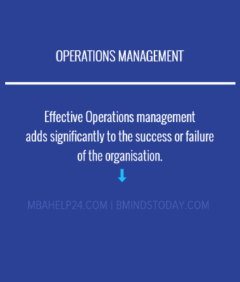 Operations management theories - models -systems business knowledge Business Knowledge Centre With Free Resources and Tools OPERATIONS 2 341x400