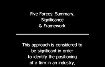 business knowledge Business Knowledge Centre With Free Resources and Tools FIVE FORCES SIGNIFICANCE 341x220