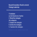 Beyond Formulation: Results-oriented Strategy Leadership Value Chain Analysis: Primary & Support Activities Value Chain Analysis: Primary & Support Activities strategy leadership 150x150