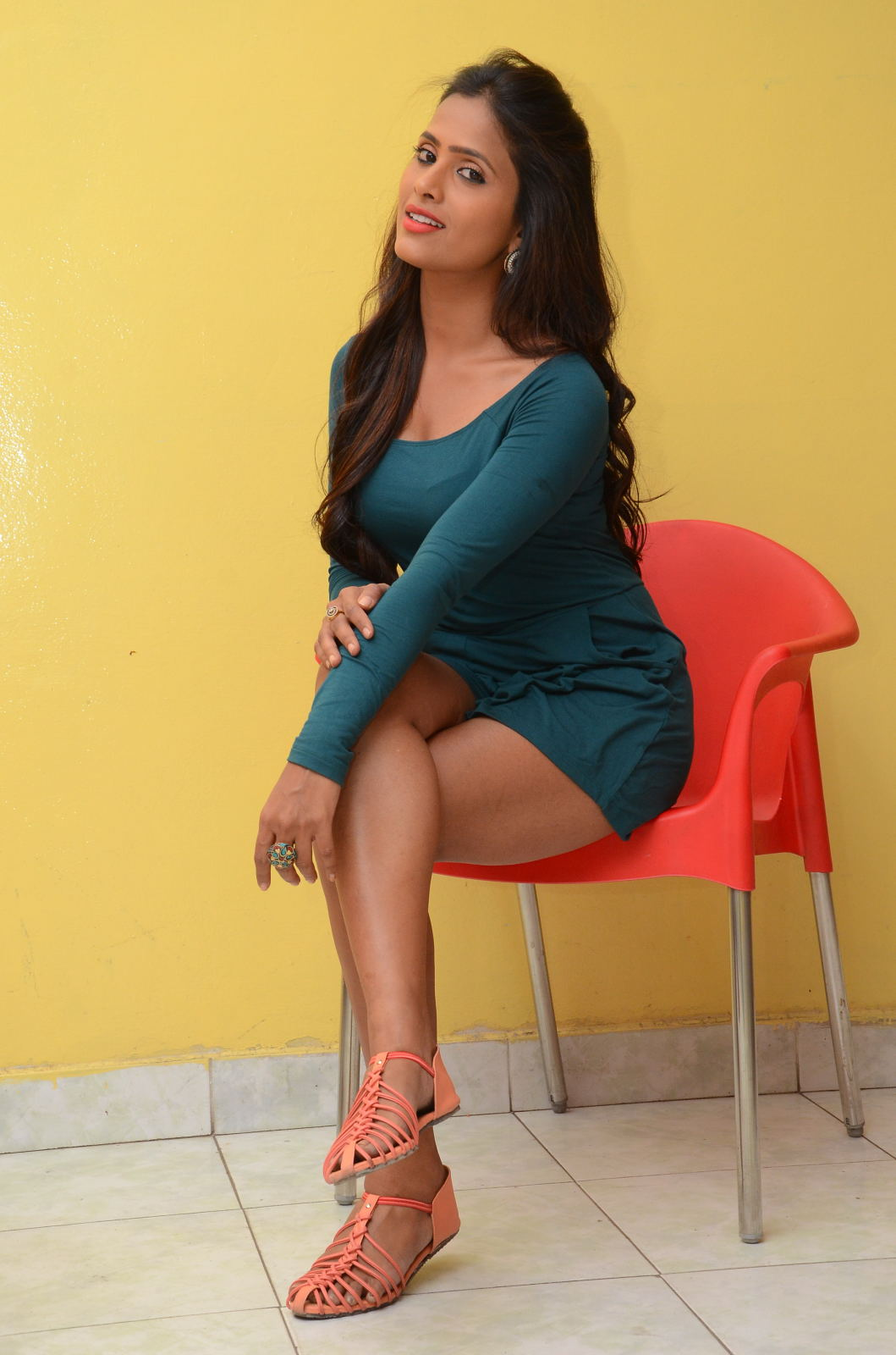 Super Hot Prashanthi In Sexy Outfit  Indian Cinema  Models  Actress-8268