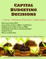 Capital Budgeting | Criteria | Substitute Directions Capital Budgeting | Definitions | Features | Process Capital Budgeting | Definitions | Features | Process Capital Budgeting Decisions Criteria Substitute Directions Implications 150x194