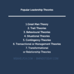 Leadership Theories: Overview, Approach & Practice leadership Leadership LEADERSHIP THEORIES 150x150