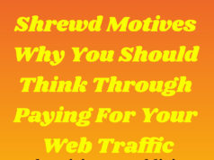 Shrewd Motives Why You Should Think Through Paying For Your Web Traffic