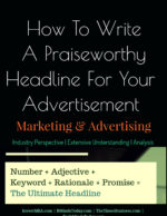Writing A Praiseworthy Headline For Your Advertisement | Ad Titles advertisement What Is The Most Affordable Method For Product or Service Advertisement? Writing A Praiseworthy Headline For Your Advertisement  150x194