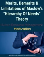 Limitations Of Maslow 's Hierarchy of Needs Theory | Merits Impacts, Implication of Hierarchy of Needs Theory on Human Resources Impacts, Implication of Hierarchy of Needs Theory on Human Resources advantages disadvatages and limitations of maslow hierarchy of needs theory 150x194