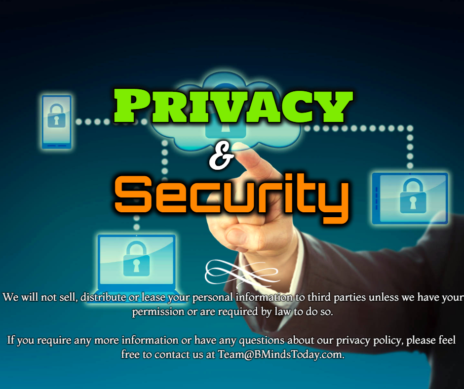 Privacy and Security Statement | Business Minds Today business minds today Privacy privacy and security