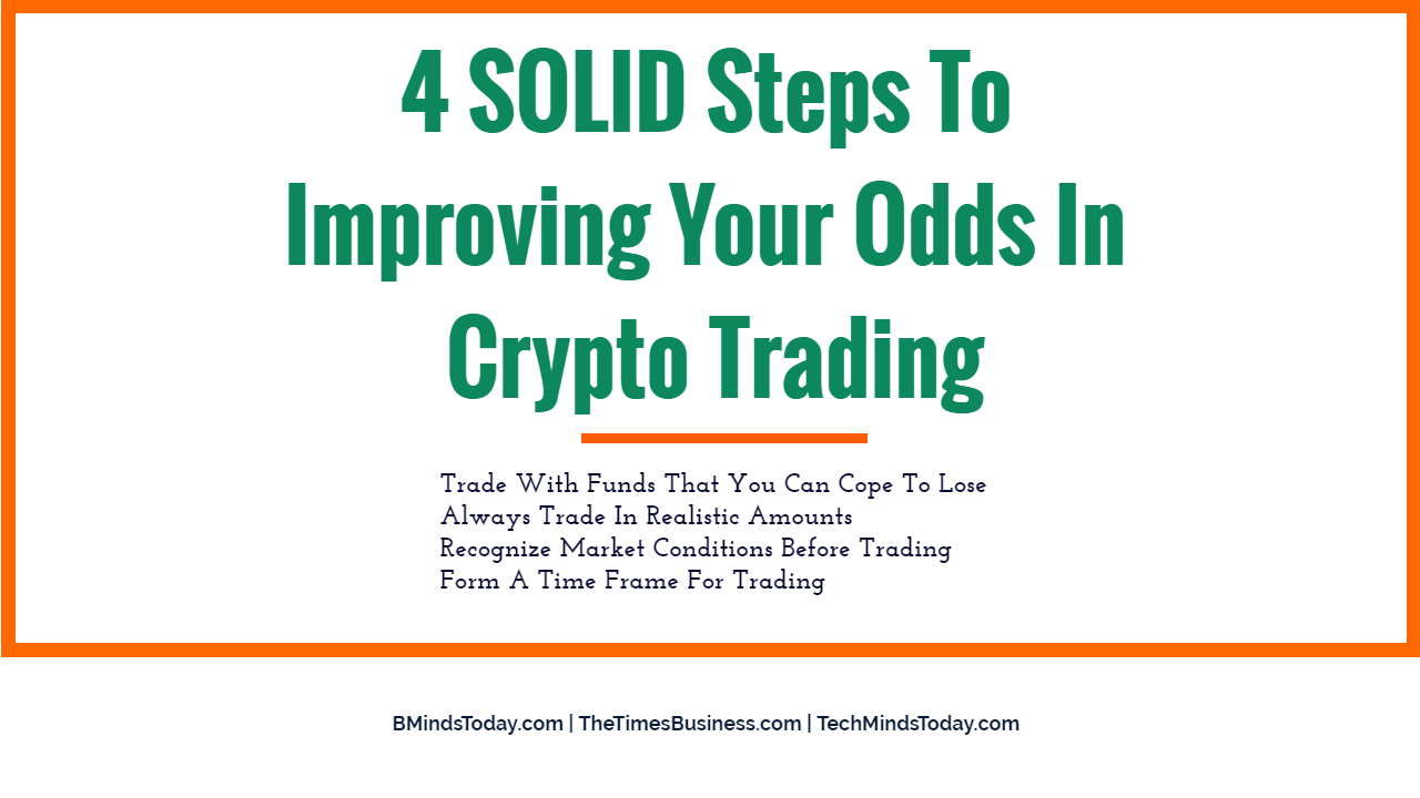 4 SOLID Steps To Improving Your Odds In Crypto Trading  4 SOLID Steps To Improving Your Odds In Crypto Trading 4 SOLID Steps To Improving Your Odds In Crypto Trading