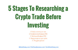 finance Finance & Investing 5 Stages To Researching a Crypto Trade Before Investing 300x194