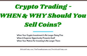 finance Finance & Investing Crypto Trading When Should You Sell Coins 300x194