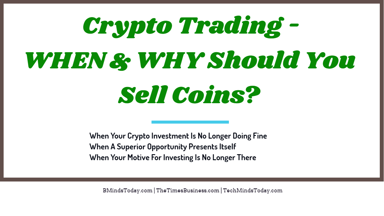 Crypto Trading - When Should You Sell Coins Crypto Trading - When Should You Sell Coins? | 3 Situations Crypto Trading – When Should You Sell Coins? | 3 Situations Crypto Trading When Should You Sell Coins