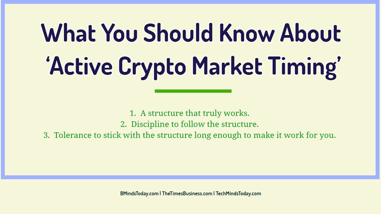What You Should Know About 'Active Crypto Market Timing' What You Should Know About ' Active Crypto Market Timing ' What You Should Know About ' Active Crypto Market Timing ' What You Should Know About    Active Crypto Market Timing