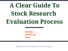 How can I process stock research evaluation