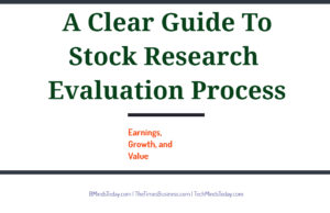 How can I process stock research evaluation finance Finance & Investing A Clear Guide To Stock Research Evaluation Process 300x194