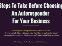 advertising Advertising-Branding-Marketing Steps To Take Before Choosing An Autoresponder For Your Business 238x178