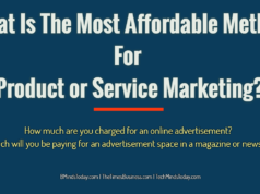 advertising Advertising-Branding-Marketing What Is The Most Affordable Method For Product or Service Marketing  238x178