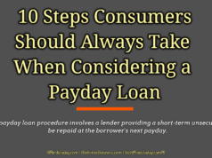 banking Banking – Mortgage – Credit 10 Steps Consumers Should Always Take When Considering a Payday Loan 238x178