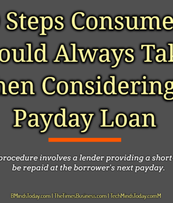 business knowledge Business Knowledge Centre With Free Resources and Tools 10 Steps Consumers Should Always Take When Considering a Payday Loan 341x400