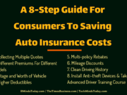 A 8-Step Guide For Consumers To Saving Auto Insurance Costs automotive Automotive A 8 Step Guide For Consumers To Saving Auto Insurance Costs 180x135