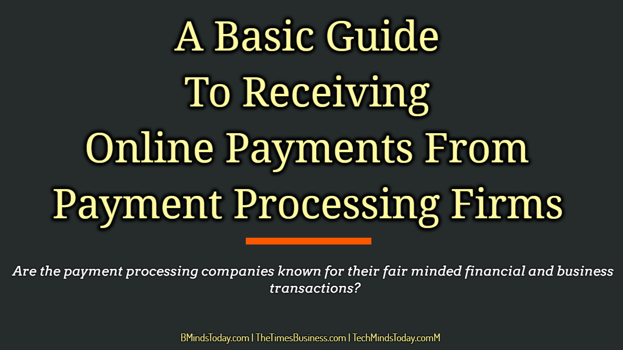A Basic Guide To Receiving Online Payments From Payment Processing Firms  online payments A Basic Guide To Receiving Online Payments From Payment Processing Firms A Basic Guide To Receiving Online Payments From Payment Processing Firms