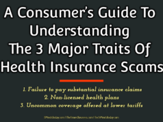 A Consumer's Guide To Understanding The 3 Major Traits Of Health Insurance Scams