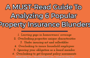 A MUST-Read Guide To Analyzing 6 Popular Property Insurance Blunders
