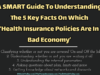 A SMART Guide To Understanding The 5 Key Facts On Which 'Health Insurance Policies Are In Bad Economy' entrepreneur Entrepreneur A SMART Guide To Understanding The 5 Key Facts On Which    Health Insurance Policies Are In Bad Economy    100x75