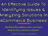 An Effective Guide To Identifying Issues & Analyzing Solutions In eCommerce Business business knowledge Business Knowledge Centre With Free Resources and Tools An Effective Guide To Identifying Issues Analyzing Solutions In eCommerce Business 100x75