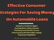 automotive Automotive Effective Consumer Strategies For Saving Money On Automobile Loans 180x135