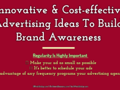advertising Advertising-Branding-Marketing Innovative Cost effective Advertising Ideas To Build Brand Awareness  238x178
