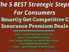 insurance policies Insurance & Risk Management The 5 BEST Strategic Steps For Consumers To Smartly Get Competitive Car Insurance Premium Deals 238x178