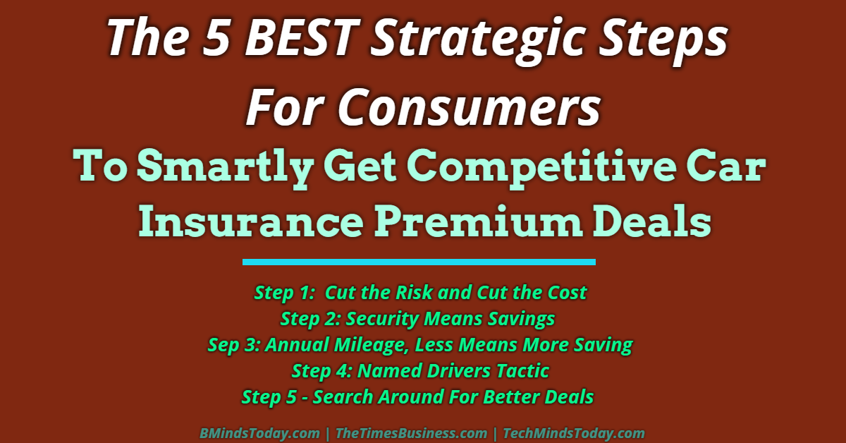 car insurance The 5 BEST Strategic Steps For Consumers To Smartly Get Competitive Car Insurance Premium Deals The 5 BEST Strategic Steps For Consumers To Smartly Get Competitive Car Insurance Premium Deals
