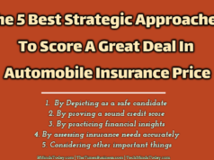 The 5 Best Strategic Approaches To Score A Great Deal In Automobile Insurance Price
