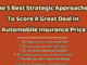The 5 Best Strategic Approaches To Score A Great Deal In Automobile Insurance Price business knowledge Business Knowledge Centre With Free Resources and Tools The 5 Best Strategic Approaches To Score A Great Deal In Automobile Insurance Price 80x60