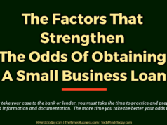banking Banking – Mortgage – Credit The Factors That Strengthen The Odds Of Obtaining A Small Business Loan 238x178