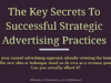 entrepreneur Entrepreneur The Key Secrets To Successful Strategic Advertising Practices  100x75