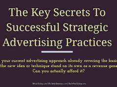 advertising Advertising-Branding-Marketing The Key Secrets To Successful Strategic Advertising Practices  238x178