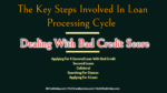 The Key Steps Involved In Loan Processing Cycle | Dealing With Bad Credit Score secured loan 5 Key Challenges Involved In Secured Loan Procedure The Key Steps Involved In Loan Processing Cycle 150x84