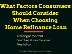 banking Banking – Mortgage – Credit What Factors Consumers Should Consider When Choosing Home Refinance Loan 238x178
