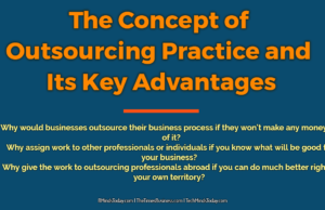 The Concept of Outsourcing Practice and Its Key Advantages