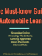 A Basic Must-know Guide On Automobile Loan Industry